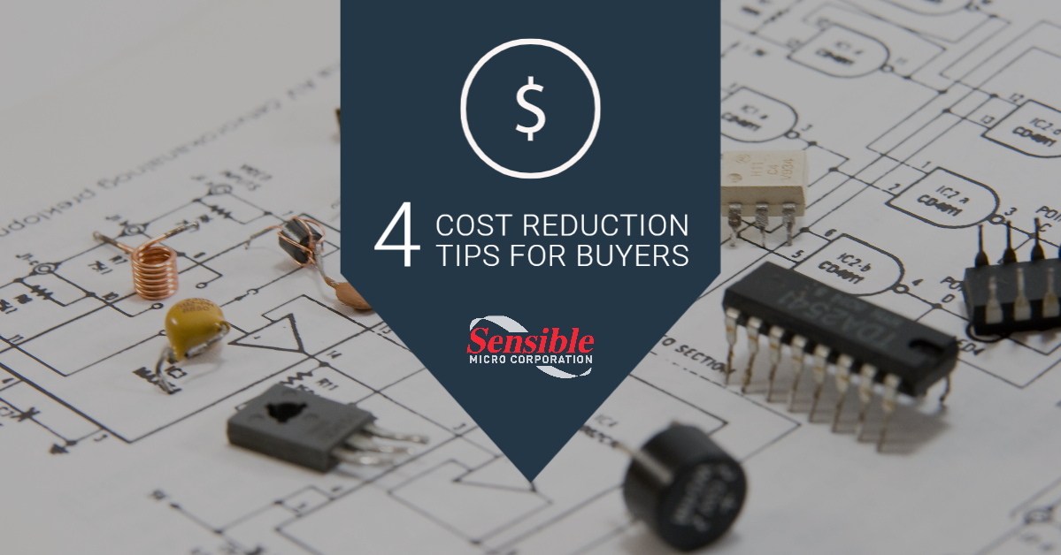 Strategic cost reduction in manufacturing - electronic components cost reduction