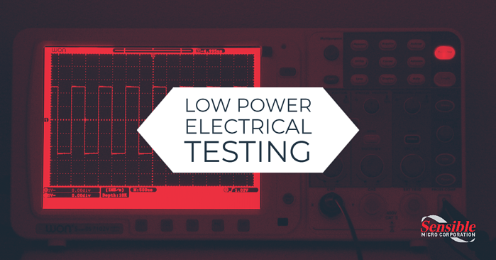 Low Power Electrical Testing by Sensible Micro