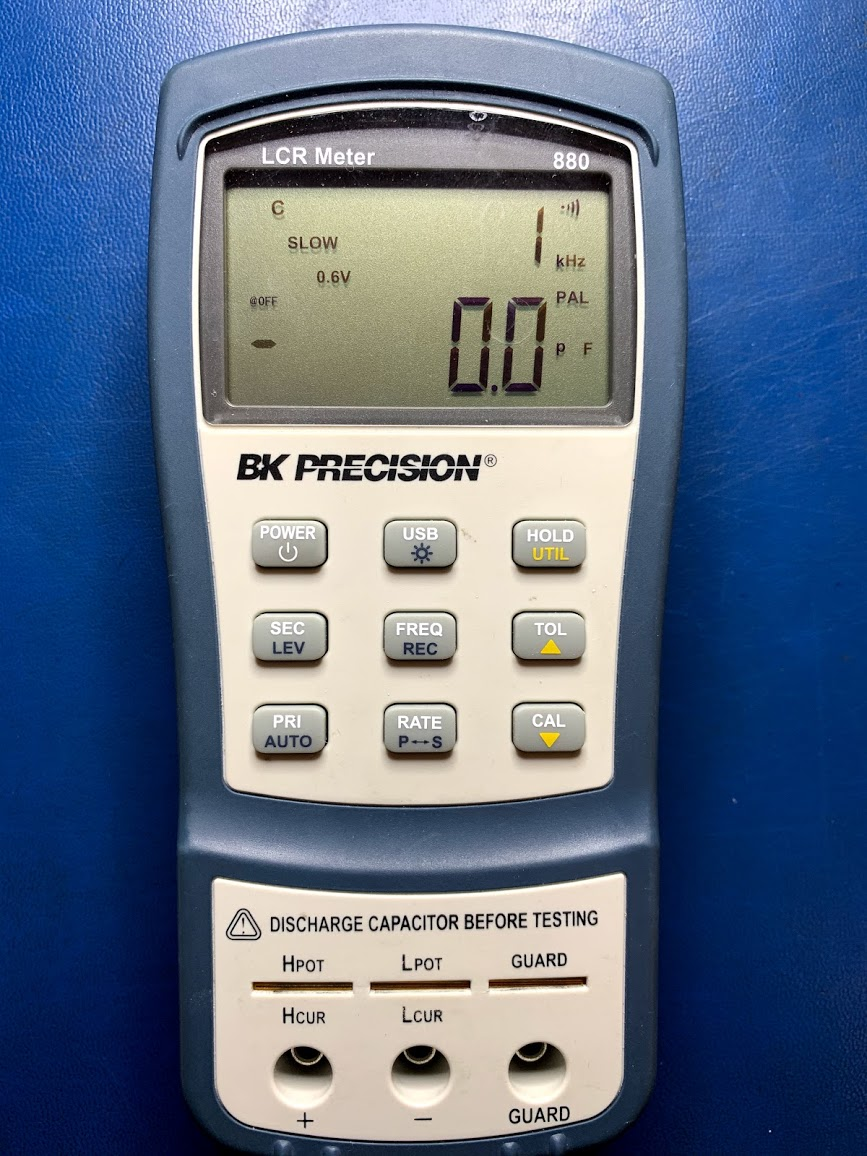 Low-power-electrical-BK-Precision-LCR Meter