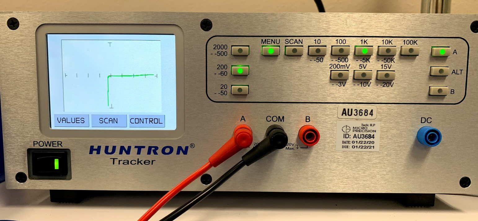 Low-power-electrical-Huntron-Tracker