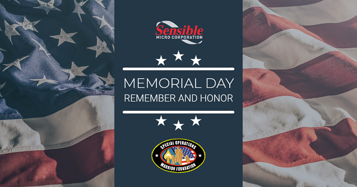 Sensible Micro Donates To Special Operations Warrior Foundation To Honor Fallen Heroes This Memorial Day