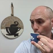 Sensible-Micro-Kevin-Getting-Espresso